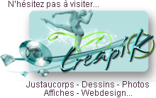 CreapiK.com (justaucorps, graphisme, photos etc.) 1
